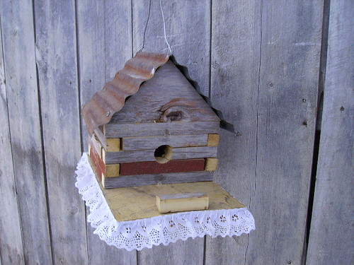 Bird House Plans Build This Log Cabin Birdhouse With Your