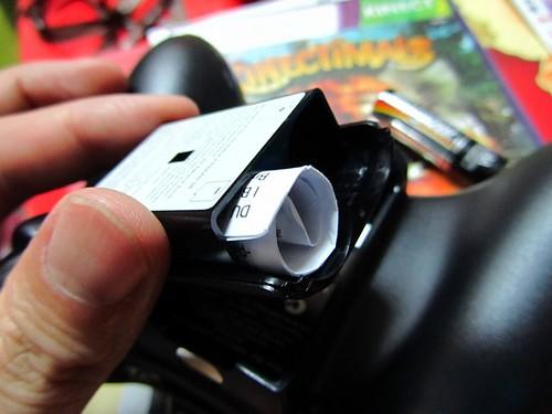 XBOX360-周邊-手把電池盒