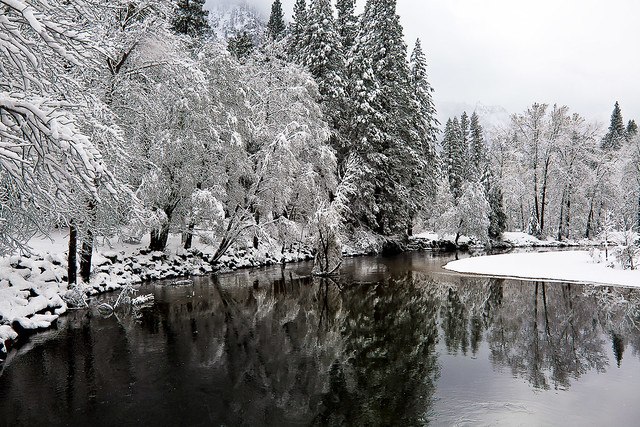 Winter Reflections, Yosemite National Park