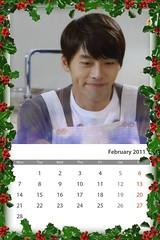 Calendar2011_Hyun Bin_February_Secret garden กุมภาพันธ์ 2554