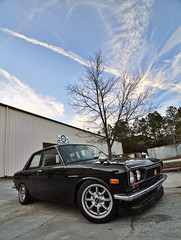 Datsun 510 - 1800 SSS (Greg Foster Photography) Tags: sky classic cars car clouds vintage japanese nikon automobile tokina 1800 510 import f28 sss datsun imports  d90 worldcars 1116mm atx116prodx