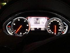 Audi A8 night vision