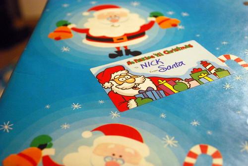 Santa Presents Wrapped