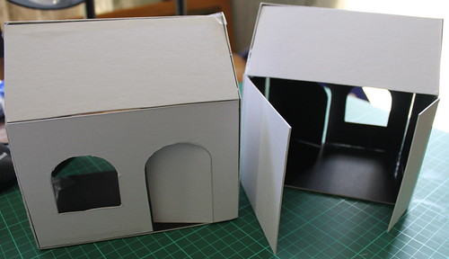 Blank houses