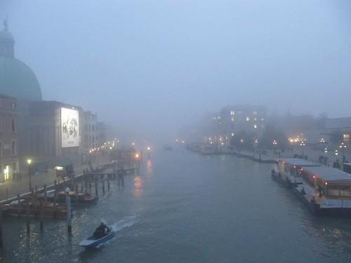 Grand Canal fog dusk Ferrovia 6888