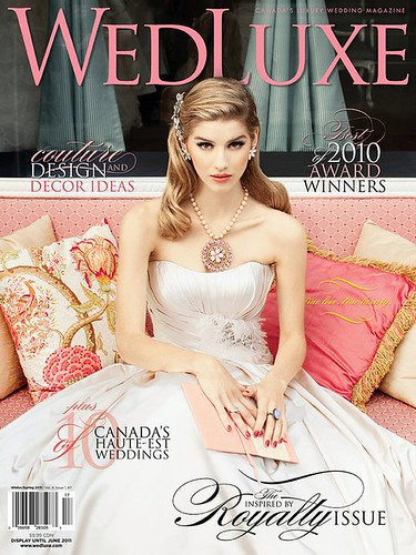 wedluxe winter spring 2011 cover