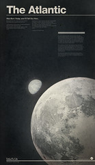 atlantic (christopher Paul) Tags: moon illustration poster typography graphicdesign earth space deathcabforcutie posterdesign christopherpaul