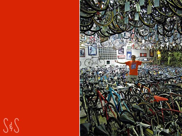 bicycle heaven.
