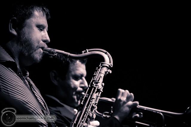 Jason Robinson Quintet at Dizzy's 121810 © Michael Klayman-020