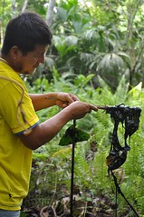 Oil pollution in the rainforest
