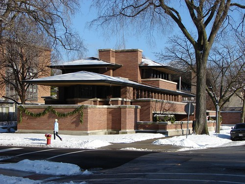 Robie House, Hyde Park, Chicago by lmgadelha, on Flickr