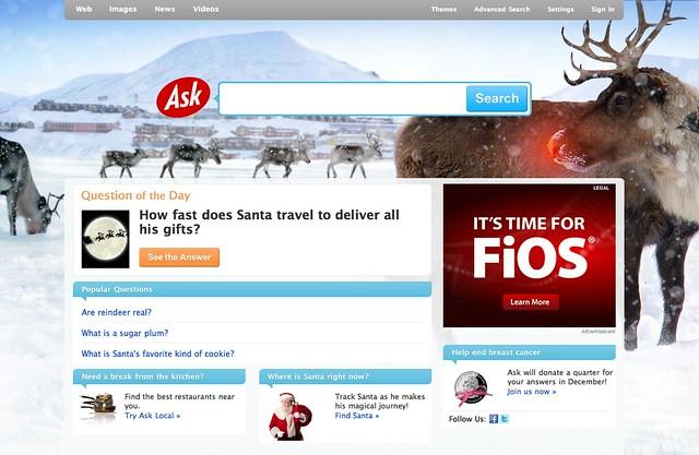 Ask Christmas Logo