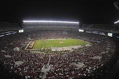 Full House: Bryant-Denny Stadium (akmcafee9) Tags: football nikon stadiums rolltide alabama sec collegefootball d300 bearbryant alabamacrimsontide paulbryant wideange bryantdennystadium