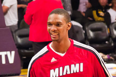 Chris Bosh by bridgetds