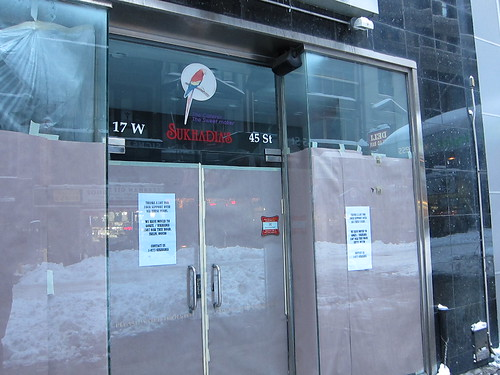 Sukhadia's Closed