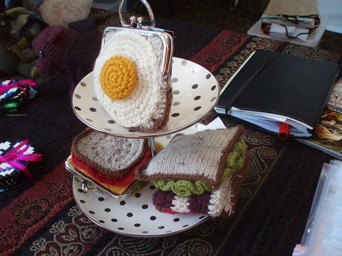 Egg on Toast Purse