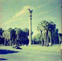 Homenaje a la Revolución Argentina de Mayo, Versión Diana Mini, Av Adolfo Berro, Palermo, Buenos Aires, Argentina 2010.