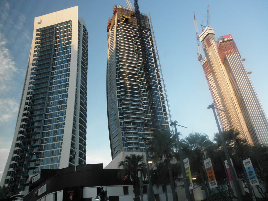 Three New Skyscrapers On The Gold Coast