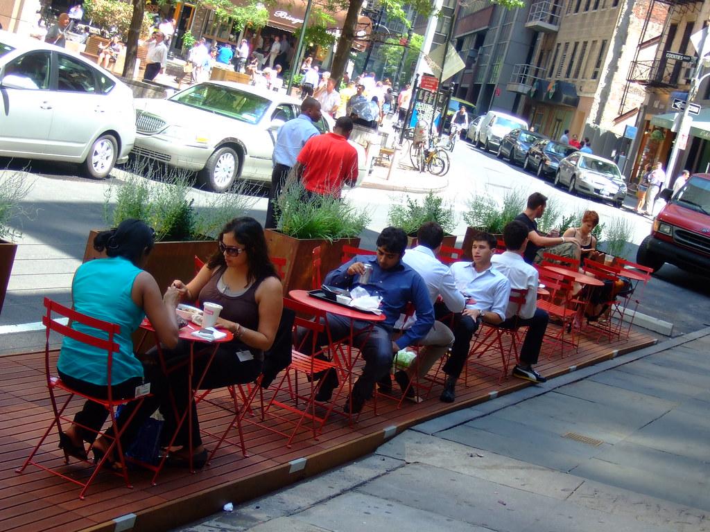 Pop-Up Cafe, Lower Manhattan