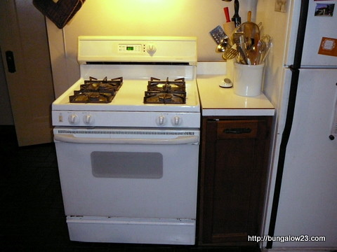 Former kitchen stove