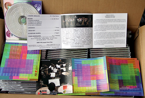 YA LLEGARON!! - CD BANDA DE MÚSICA JJMM-ULE