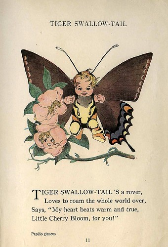 002-The Butterfly Babies' Book 1914- Elizabeth Gordon- Illustrated by M. T. Ross