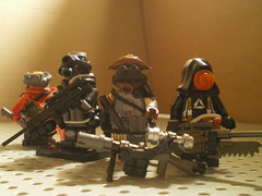 lego sniper team (sirzoren) Tags: soldier war lego sniper legosoldier legosniper legoscifi legowar postapocfigs legopostapocfigs