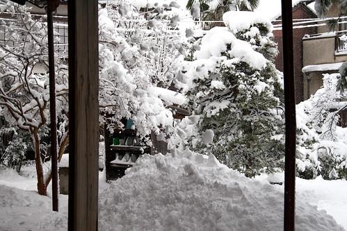 雪の大晦日2010