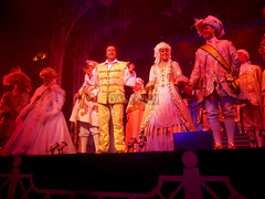 Taking the final bows Jimmy Osmond and Cinderella cast 2010