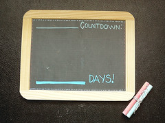 1:365 - And the Countdown Begins (orangesparrow) Tags: 365 365project chalkbaord 3652011edition