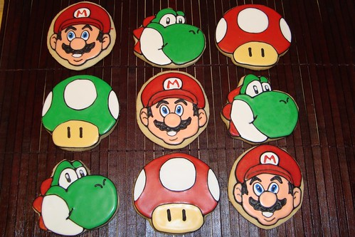 Super Mario Theme Cookies