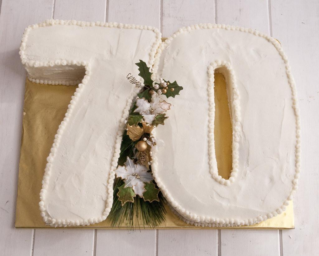 70th cake 2