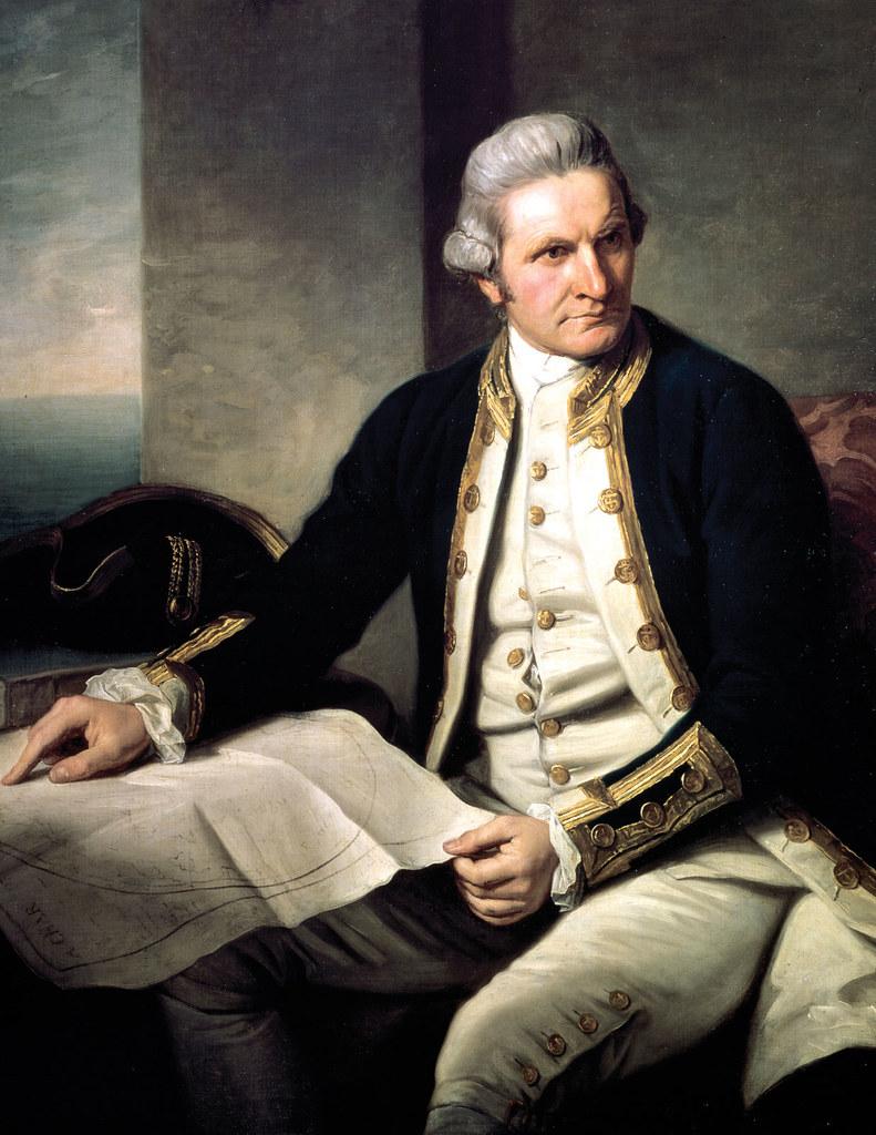 James Cook 1728 - 1779