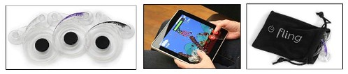 Ten One Design Unveils Fling Tactile Game Controller for iPad at CES 2011