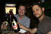 Andy and Joel sample a litre bottl…