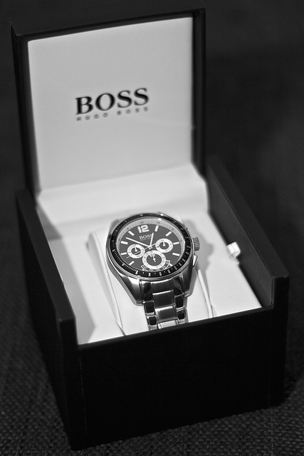 boss watch hugoboss klocka bossblack