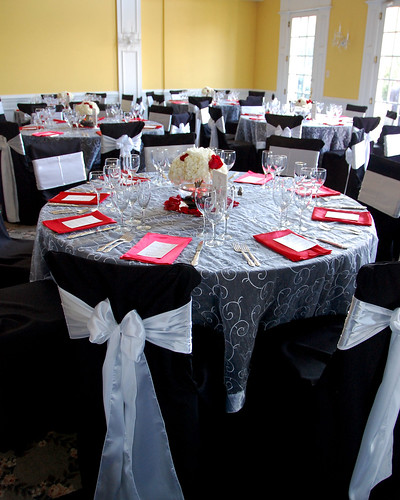 Table setting at Rose Hill Manor