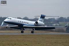 N628BD - 628 - Hewlett Packard - Gulfstream V - Luton - 110104 - Steven Gray - IMG_7506