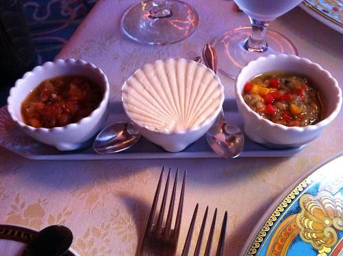 Nouveau Steakhouse - Tomato Confit, Butter, Eggplant Tapenade