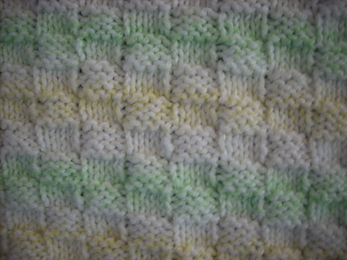 Sprog's blanket close up
