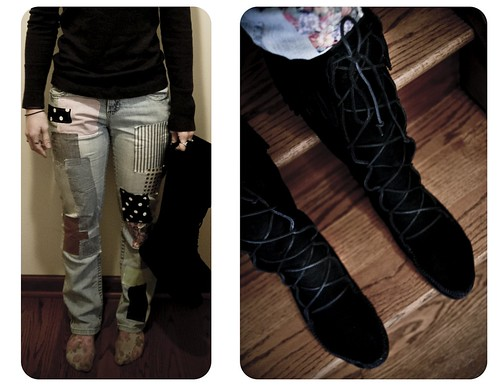 Cheap Monday Jeans DIY