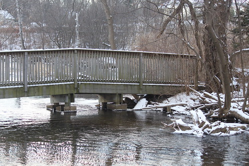 Bridge over Huron River