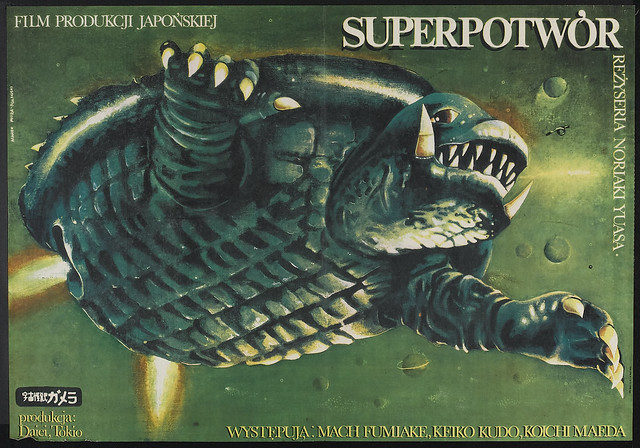 Gamera Super Monster (Daiei, 1980) Polish