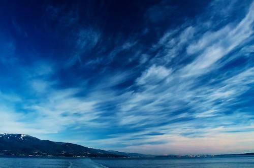 フリー写真素材, 自然・風景, 空, 雲, ブルー,