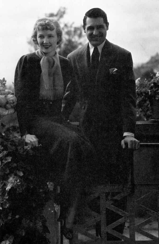 Virginia Cherrill and Cary Grant