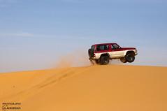 NISSAN DANHOSH (SAUD ALRSHIAD) Tags: sky sand nissan patrol t63es danhosh