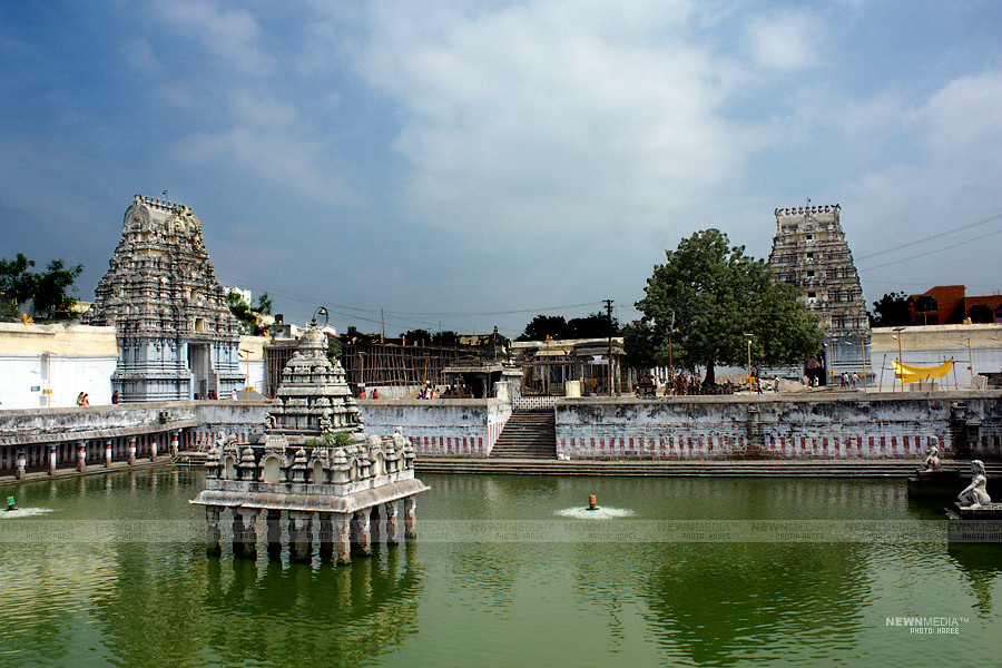 Temple Pond - Photography by Haree for Nishchalam.