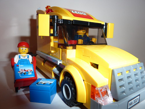 Lego: delivery truck