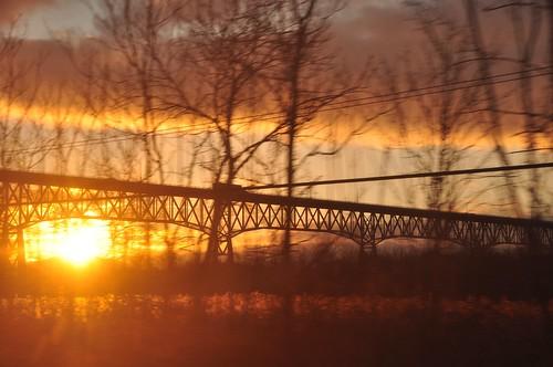 Hudson River Sunset 4