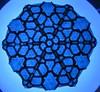 Circle Of Moth #blueandblack